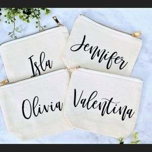 Personalized Name Cosmetic Bag